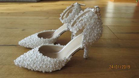 Svadobné topánky veľ. - Obrázok č. 1