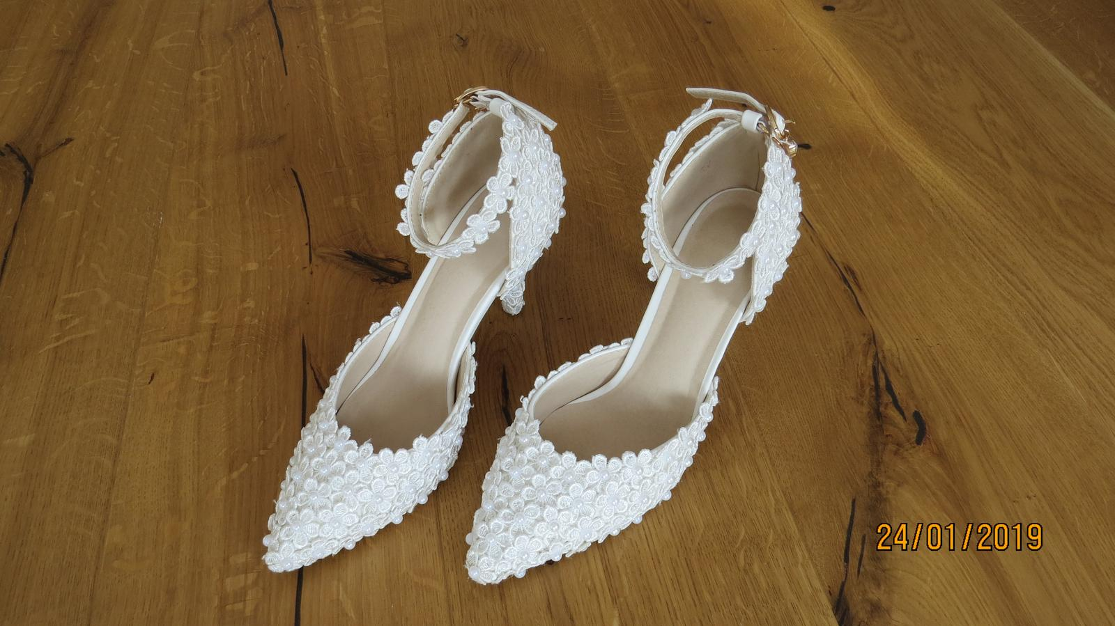 Svadobné topánky veľ. - Obrázok č. 2