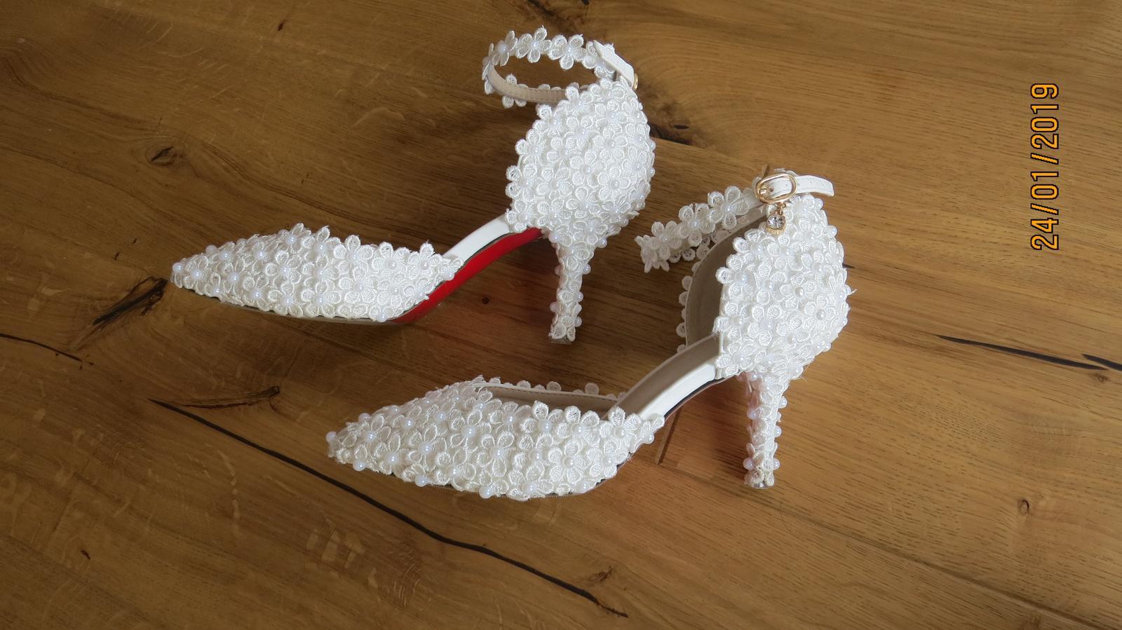 Svadobné topánky veľ. - Obrázok č. 3