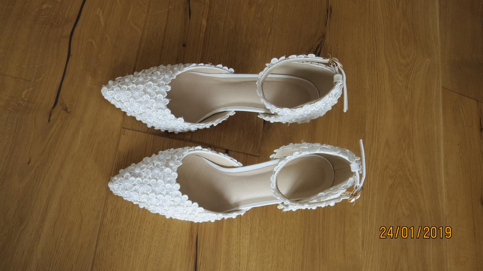 Svadobné topánky veľ. - Obrázok č. 4