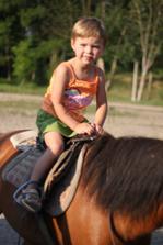 hodina ježdění na koních