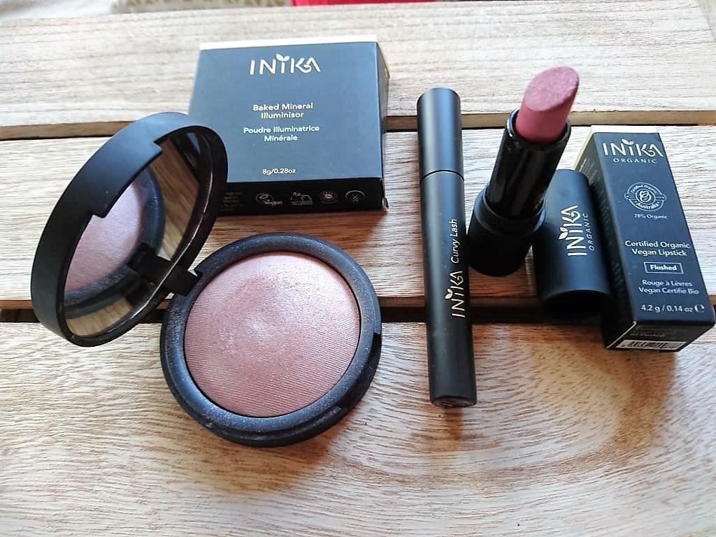 Sada non-toxic bio profesionální kosmetiky INIKA - Obrázek č. 1