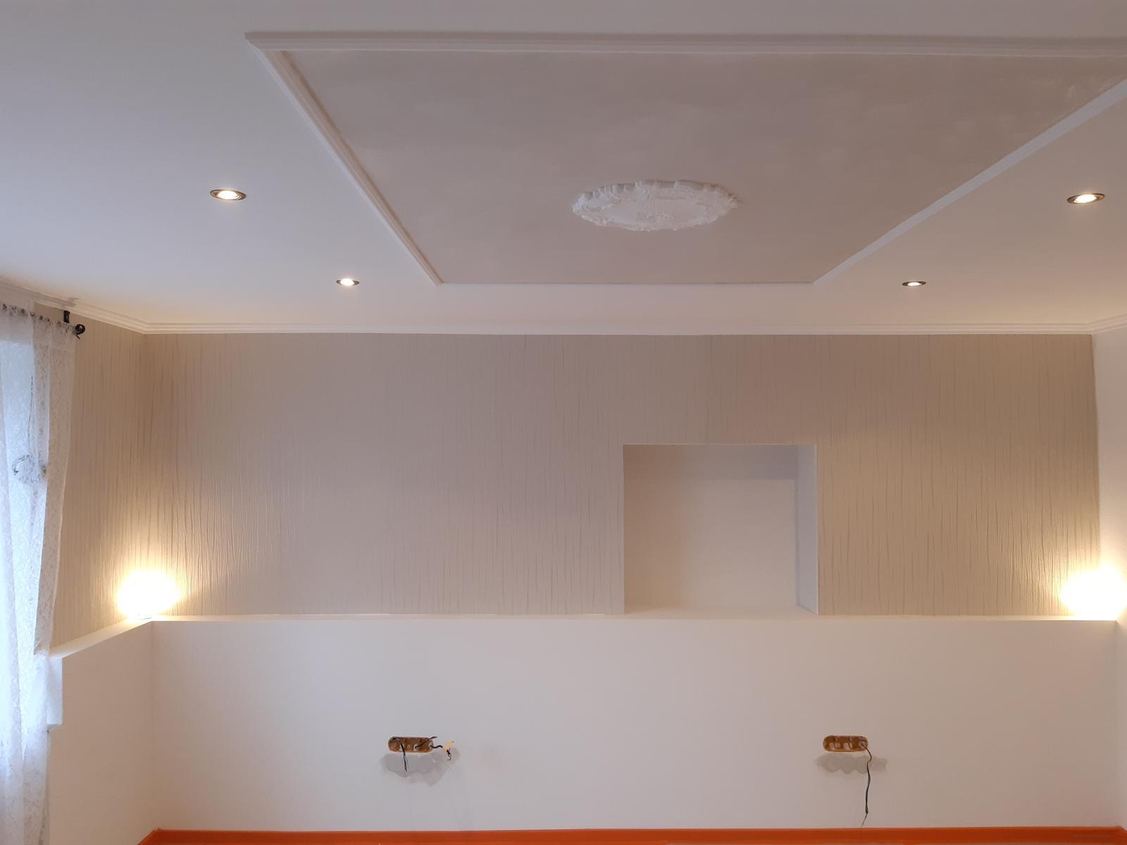 Striekane malovanie,zhotovenie SDK stropov a stien - Obrázok č. 1