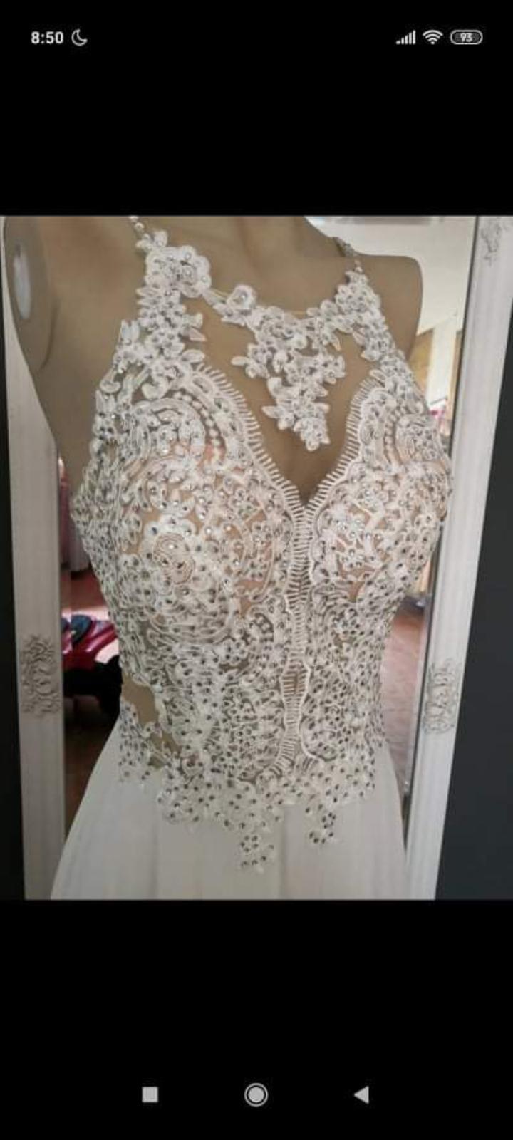 Svatební šaty vel. 36 - Obrázek č. 1