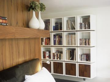 Ako si staviame sen - inšpirácie na interiér - kniznica