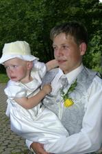 syn a mladší dcerka...