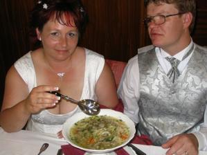 jak jsem jedli polévku...