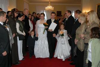 novomanželé Jarošovi