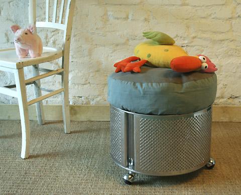 Recyklované a iné nápady ♻ - bubon z práčky