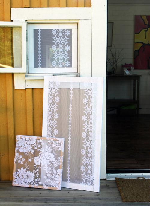Recyklované a iné nápady ♻ - sieťky na okná