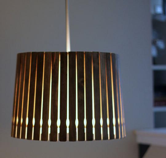Recyklované a iné nápady ♻ - retro lampa