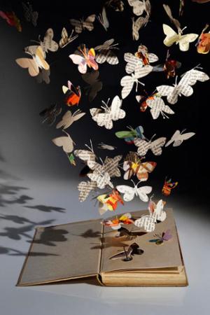 Recyklované a iné nápady ♻ - butterfly effect