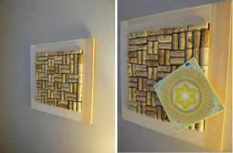 http://superforest.org/2010/08/d-i-y-recycled-cork-board/