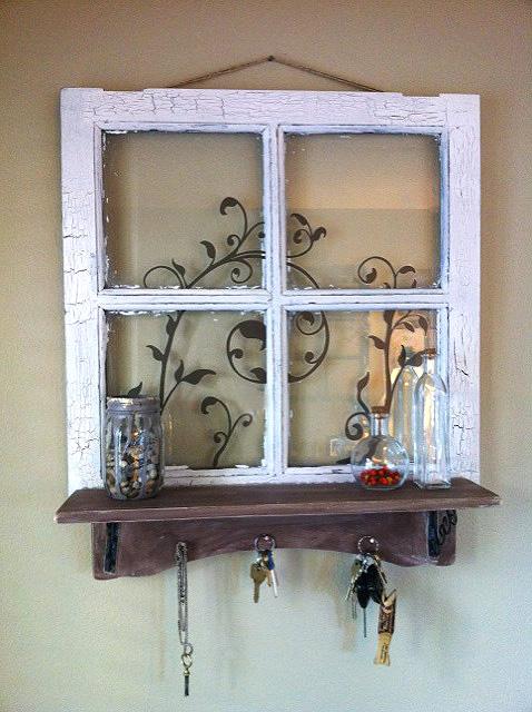 Recyklované a iné nápady ♻ - http://diyshowoff.com/2011/11/dazed-and-then-some-an-old-window-diy-project.html