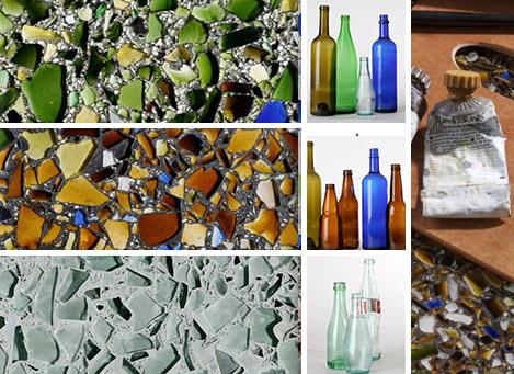 Recyklované a iné nápady ♻ - mozajky zo skla