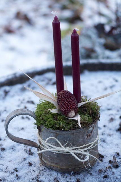 Natural christmas (aké dekorácie si môžeš vyrobiť sama:) ☃ - Obrázok č. 387