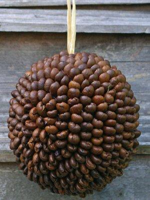 Natural christmas (aké dekorácie si môžeš vyrobiť sama:) ☃ - Kávové zrnká