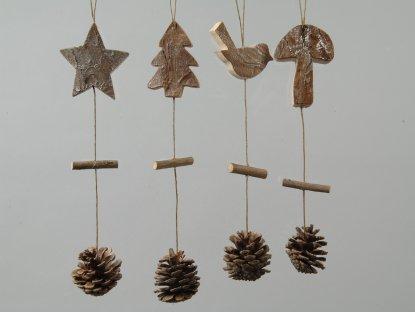 Natural christmas (aké dekorácie si môžeš vyrobiť sama:) ☃ - Obrázok č. 16