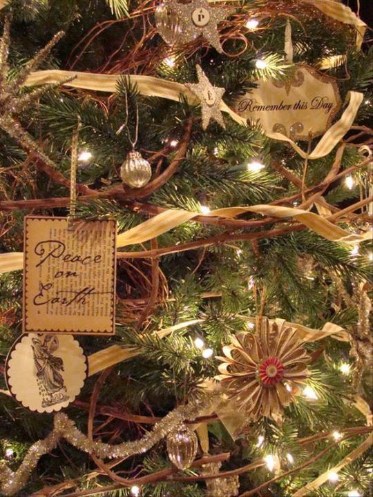 Natural christmas (aké dekorácie si môžeš vyrobiť sama:) ☃ - Obrázok č. 3