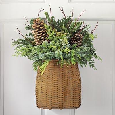 Natural christmas (aké dekorácie si môžeš vyrobiť sama:) ☃ - Aranžmá zo šišiek a čečiny