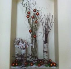 Natural christmas (aké dekorácie si môžeš vyrobiť sama:) ☃ - Váza z kôry brezy