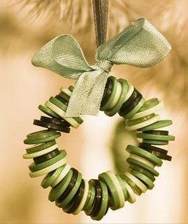 Natural christmas (aké dekorácie si môžeš vyrobiť sama:) ☃ - gombíky