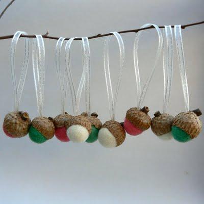Natural christmas (aké dekorácie si môžeš vyrobiť sama:) ☃ - Dubové žalude