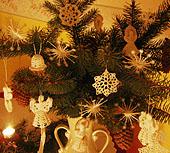 Natural christmas (aké dekorácie si môžeš vyrobiť sama:) ☃ - Háčkované ozdoby (mám strašne rada)