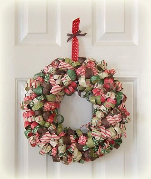 Natural christmas (aké dekorácie si môžeš vyrobiť sama:) ☃ - papierový
