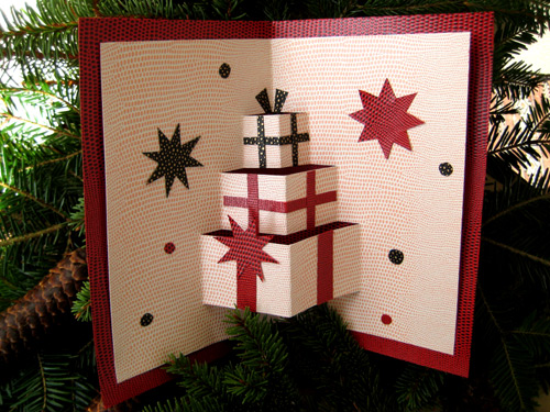 Natural christmas (aké dekorácie si môžeš vyrobiť sama:) ☃ - http://organiser-anniversaire.fr/activites-creatives/carte-de-voeux-pour-noel-830