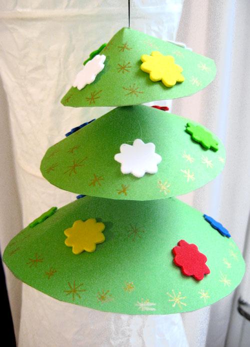Natural christmas (aké dekorácie si môžeš vyrobiť sama:) ☃ - http://organiser-anniversaire.fr/bricolages/mobile-de-noel-308