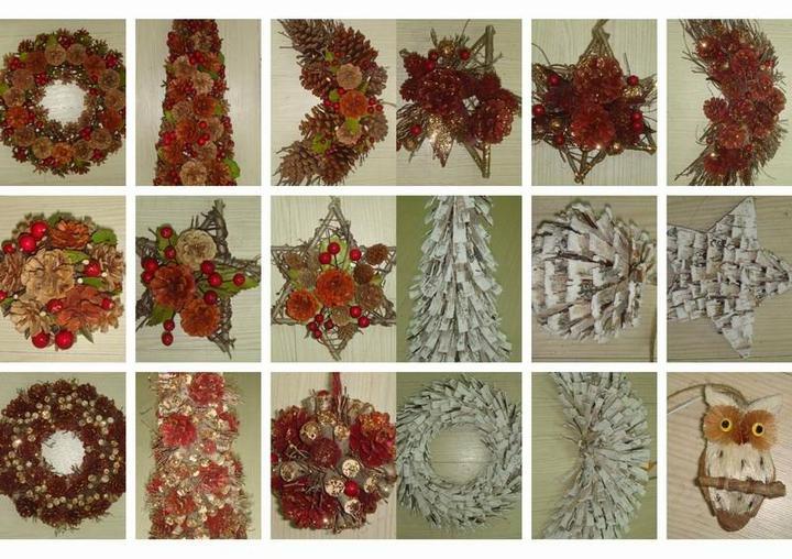 Natural christmas (aké dekorácie si môžeš vyrobiť sama:) ☃ - Obrázok č. 232
