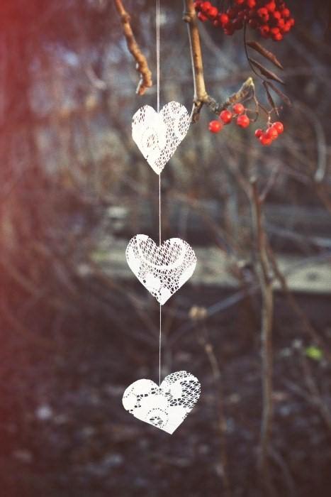 Natural christmas (aké dekorácie si môžeš vyrobiť sama:) ☃ - zo starej záclonky
