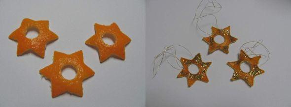 Natural christmas (aké dekorácie si môžeš vyrobiť sama:) ☃ - zo šupky