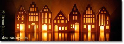 Natural christmas (aké dekorácie si môžeš vyrobiť sama:) ☃ - lucerna na okno z papiera