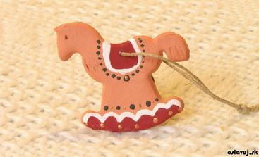 zo samoschnúcej hmoty // postup a vela iných pekných ozdôb tu: http://www.oslavuj.sk/vianocne-ozdoby-handmade/5153
