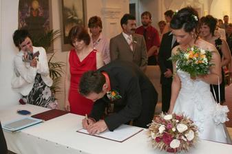 a ženichův podpis