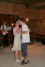 První tanec s manželem.