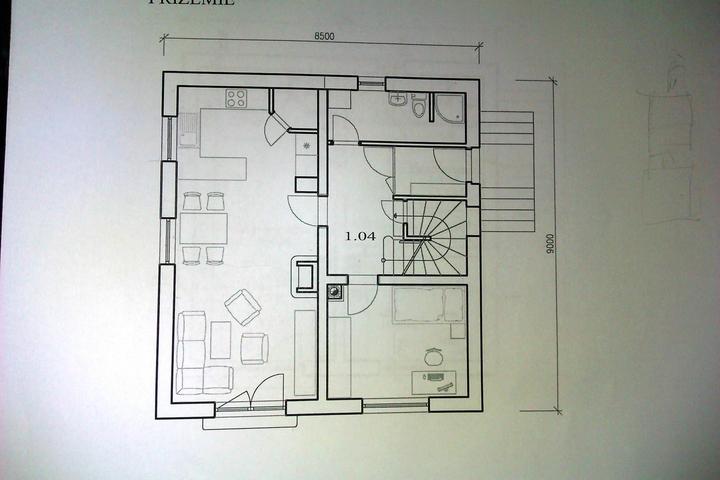 Príprava na bývanie ;-) - alternativa od nasej projektantky...BERIEME :-)