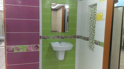 k tomu murovany zeleny sklobetonovy sprch.kut...hmmmmm
