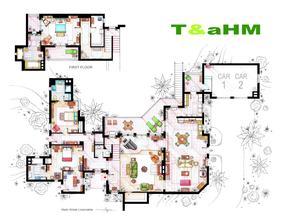 Charlie Harper's house ;) Mam pre ten dom proste slabost !!!
