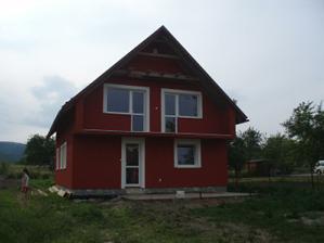 Konecne fasada - jul 2011