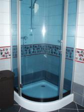 Sprchac v dolnej kupelni