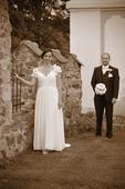 Svatební šaty vel. 42 ( uk 12) kupované v 2015, 42