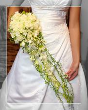 Kytička byla překvapení - až do svatebního dne jsem nevěděla jak bude vypadat...