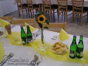 taketo jednoduche kvetinky budu na stoloch