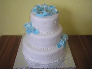 naša svadobná torta