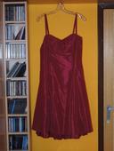 Bordové šaty v. 38 - nepoužité, 38