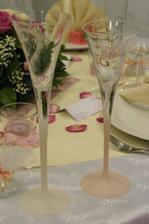 ... svadobné poháre...