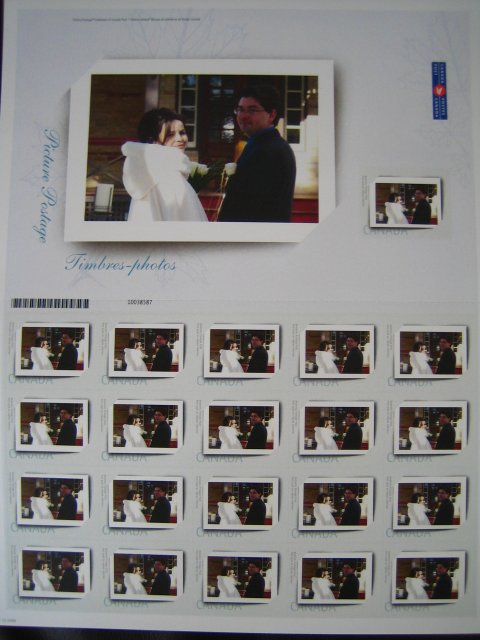 Kolekcia svadobnych znamok